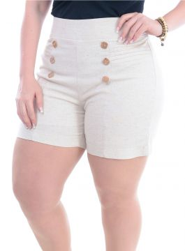 Short Plus Size Bonito