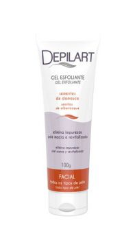 Gel Esfoliante Facial Depilart Semente De Damasco 100g