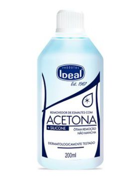 Removedor De Esmalte Ideal C/ Silicone - 200ml