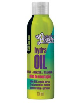 óleo De Umectação Soul Power Hydra Oil 100ml - Beauty Color