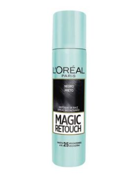 Retoque De Raiz Spray Loreal Magic Retouch Preto 75ml