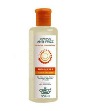 Shampoo Flores E Vegetais Anti-frizz 300ml