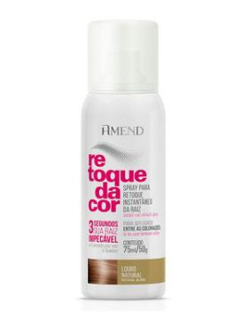 Retoque Da Cor Amend Spray Louro Natural - 75ml