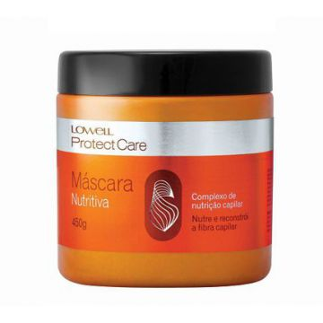 Máscara Lowell Nutritiva Protect Care 450g - Lowell.