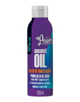 óleo De Umectação Soul Power Coconut Oil 100ml - Beauty Colo