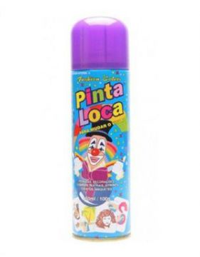 Spray Decorativo Pinta Loca Roxa 150ml - Aspa