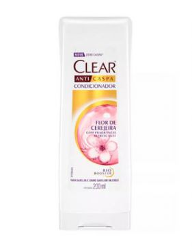 Condicionador Clear Anticaspa Flor De Cerejeira 200ml