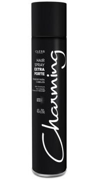 Hair Spray Cless Charming Black Extra Forte 400ml