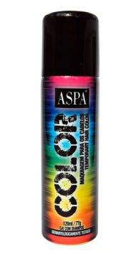Hair Spray Aspa Color 120ml Fantasia Verde