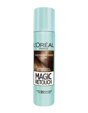 Retoque De Raiz Spray Loreal Magic Retouch Castanho Claro 75
