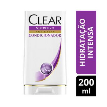 Condicionador Clear Anticaspa Hidratante Intensa 200ml