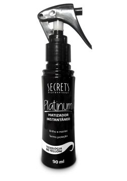 Spray Secrets Finalizador Platinum 90ml