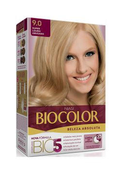 Tintura Biocolor Kit Creme 9.0 Super Louro Abusado