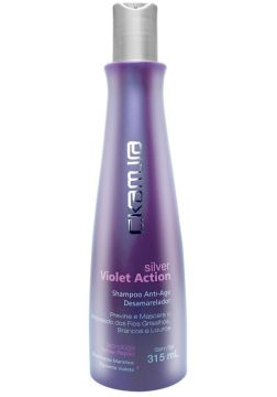 Shampoo C.Kamura Silver Violet Action 315ml