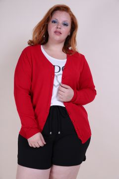Cardigan Tricot Plus Size
