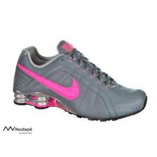 various styles many fashionable latest design Tênis Nike 454339-062 Wmns Shox Junior Cinza/pink