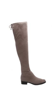 Bota Anacapri Over The Knee Cinza