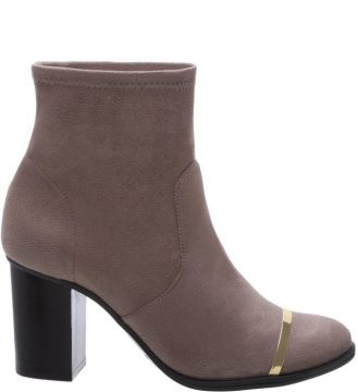 Ankle Schutz Skinny Boot Metal Mouse