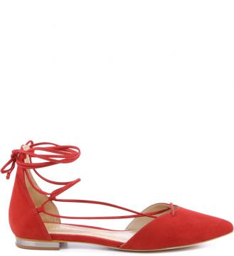 Sapatilha Schutz Lace Up Red