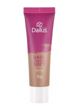 Base Líquida Soft 30g Dailus Color 08. Bege Escuro