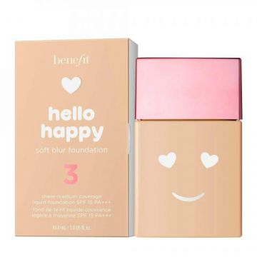 Base Líquida Benefit Hello Happy Soft Blur