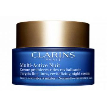 Creme Antissinais Noite Multi-active - Clarins
