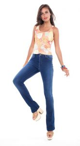 CALCA JEANS LILLY MEDIA