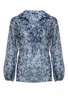 Blusa Crepe Floral Liberty - Amissima