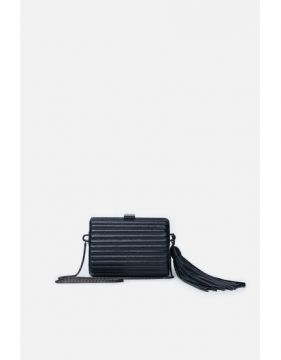 Clutch Metal Frisado - Preto - U - Animale