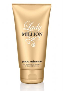 Lady Million Body Lotion Paco Rabanne - Loção Perfumada par