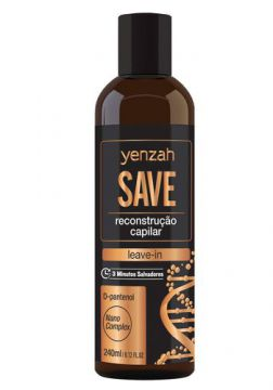 Yenzah Save Leave-In Reconstrução Capilar - 240ml