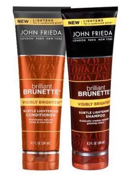 John Frieda Brilliant Brunette Brighter Light - Shampoo + C