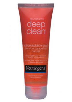 Deep Clean Grapefruit Neutrogena - Sabonete Facial - 80g