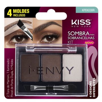 I-Envy By Kiss Kit Sombra de Sobrancelha First Kiss