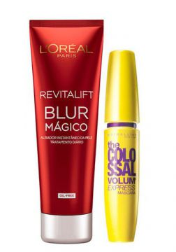 Kit Revitalift Blur L Oréal Paris + The Colossal Volum Exp