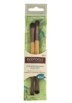 Eye Enhancing Duo Set Ecotools - Pincel para Sombra