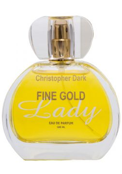 Fine Gold Lady Christopher Dark - Perfume Feminino - Eau de