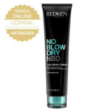 Redken No Blow Dry Just Right Cream - Leave In - 150ml