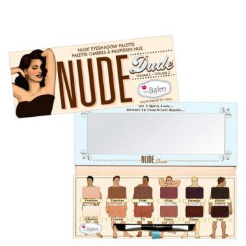 Nude Dude The Balm - Paleta de Sombras - Estojo