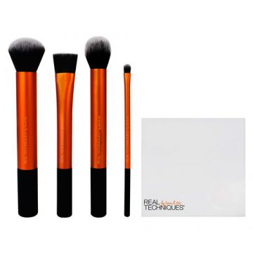 Real Techniques Flawless Base Set Kit - 4 Pincéis de Prepar