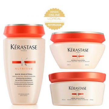 Kérastase Nutritive Magistral Kit - Shampoo + Leave-In + Má