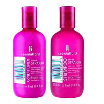 Kit Shampoo + Condicionador Lee Stafford Pocker Straight