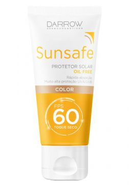 Protetor Solar Darrow - Sunface Color FPS 60 - 50g