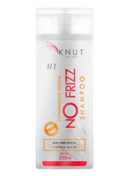 Knut No Frizz Shampoo Atirresiduos Vegetal - 250ml