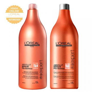 LOréal Professionnel Absolut Repair Pós-Química Kit - Shamp