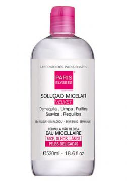 Água Micelar Velvet Paris Elysees - 530ml