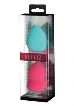 Esponja para Maquiagem Belliz - Make Up 360º Double Pack -