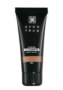 Avon True Base Ultramatte 30ml - Castanho Escuro