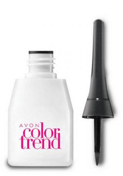 Delineador Líquido Color Trend 3ml - Preto