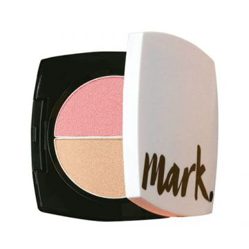 Mark. Duo Blush e Iluminador 12g - Pink Glow